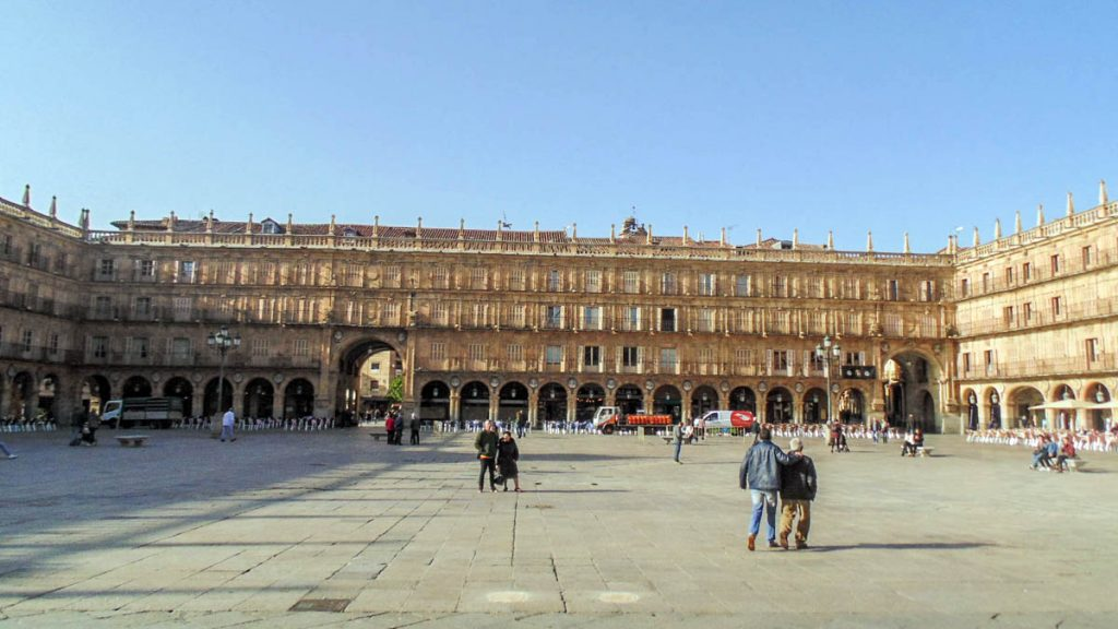 Plaza Mayor de Salamanca 8