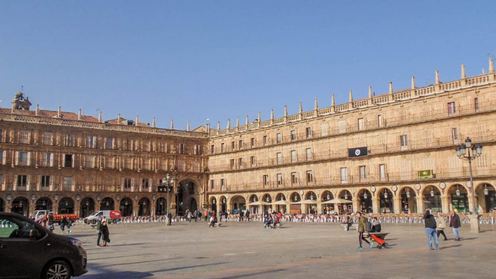 Plaza Mayor de Salamanca 11