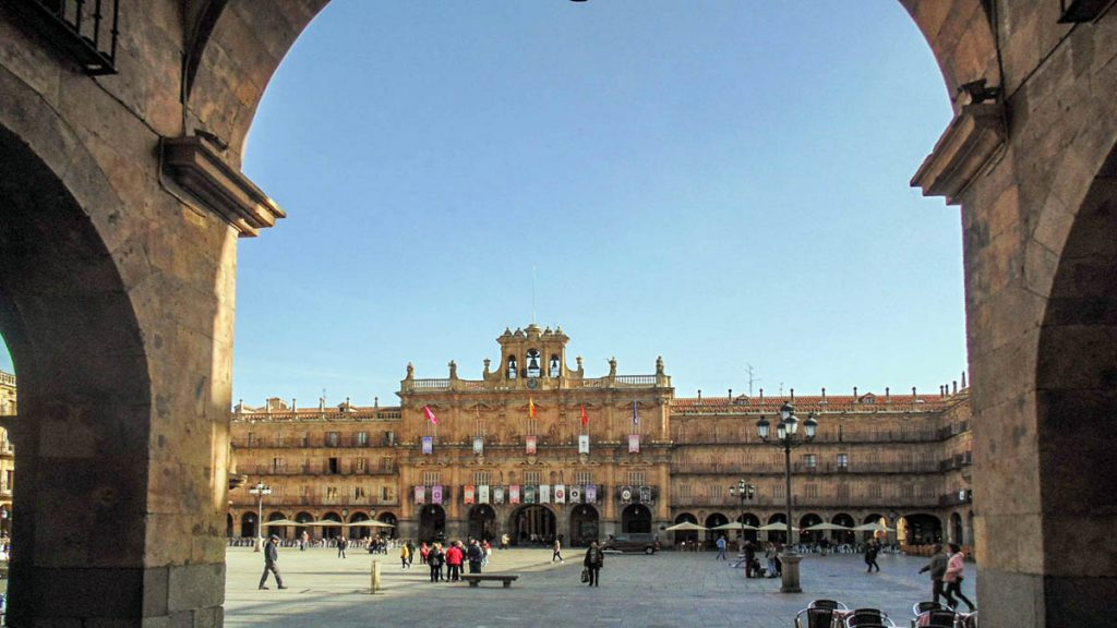 Plaza Mayor de Salamanca 13